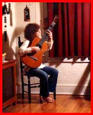 Master Guitarist Dona Reyes, performing one of her favorite Flamenco pieces.